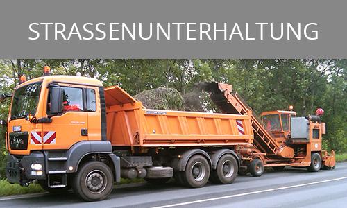 Straßenunterhaltung | Lohnunternehmen Janssen Aurich