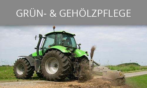 Grün- und Gehölzpflege | Lohnunternehmen Janssen