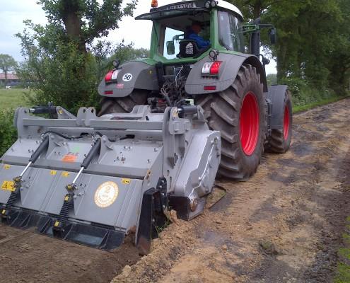 Bodenstabilisierung   Lohnunternehmen Janssen