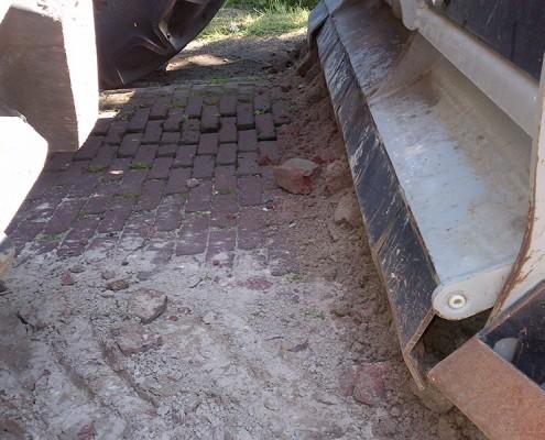 Steinfräse   Lohnunternehmen Janssen