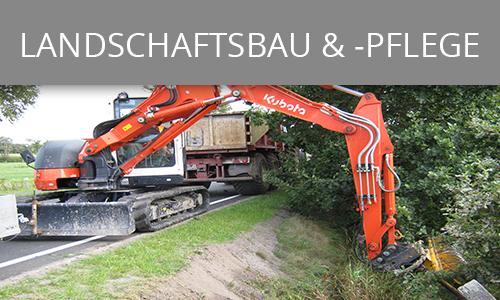 Landschaftsbau und -pflege | Lohnunternehmen Janssen Aurich