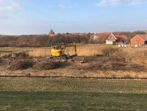 Baufeldräumung | Lohnunternehmen Janssen